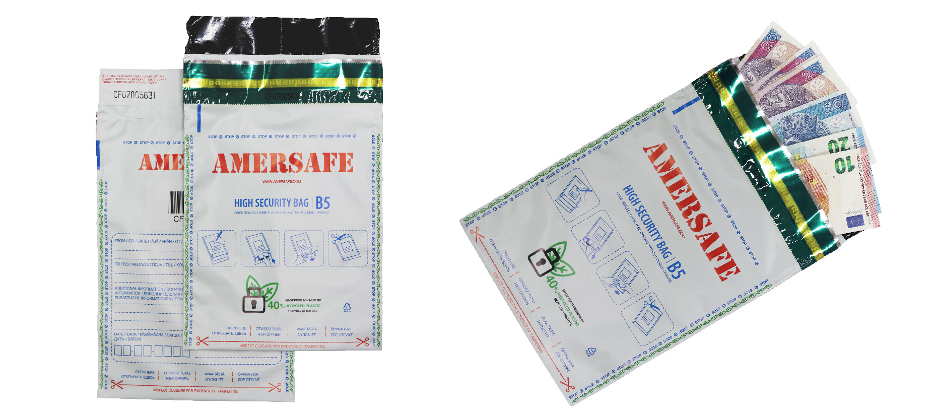 AmerSafe Eco bags