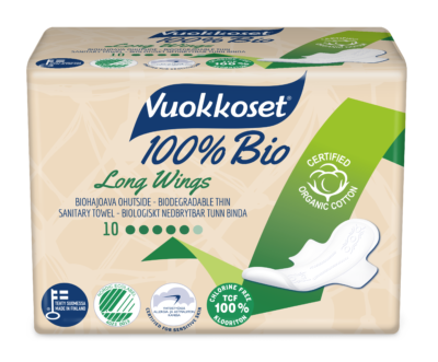Vuokkoset personal care packaging