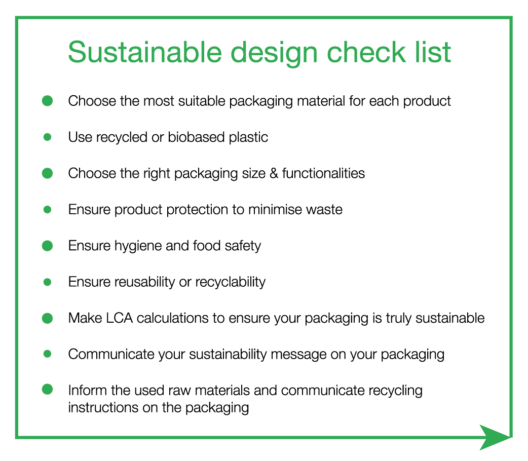 Sustainable Design Check List