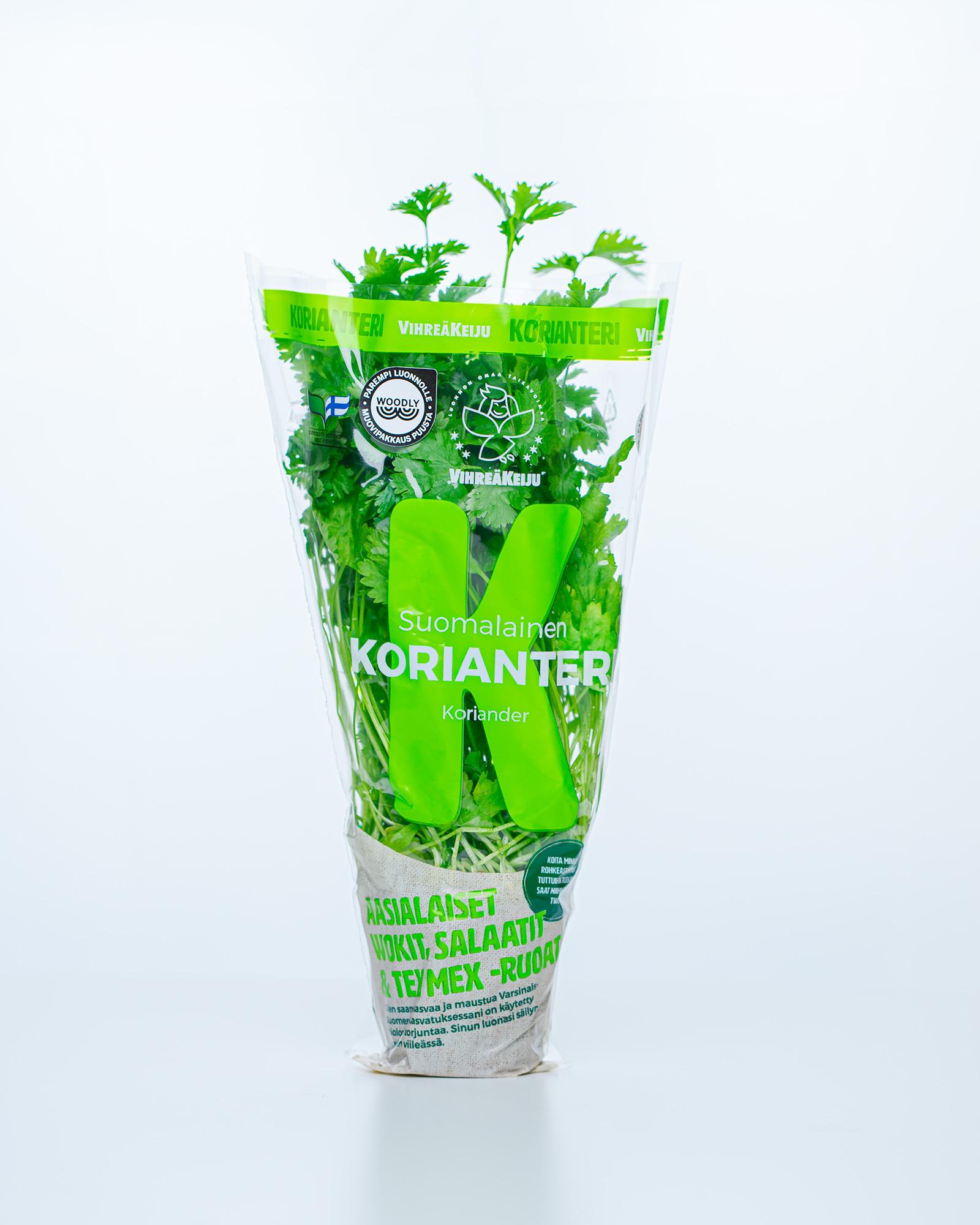 Salad pouch